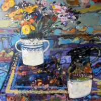 Marigolds and Milkjug.